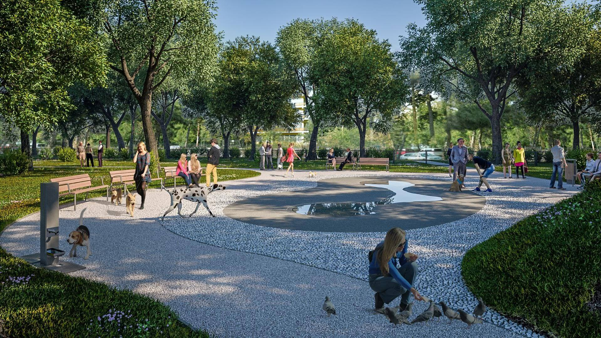 Heteken belül megnyílik a Városliget kutyás élményparkja