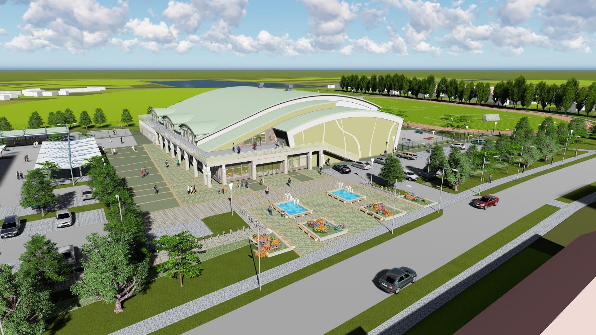 Különleges sportközpont épül ki Sárvár rozsdaövezetében