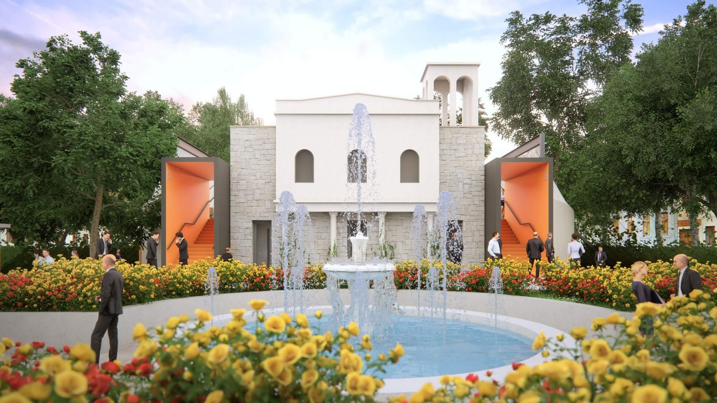 Augusztusban már várja nézőit Nyíregyháza új szabadtéri színpada