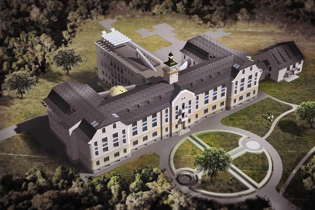 Angol vidéki kastélyt idéző kampuszt alakítanak ki Kőszegen