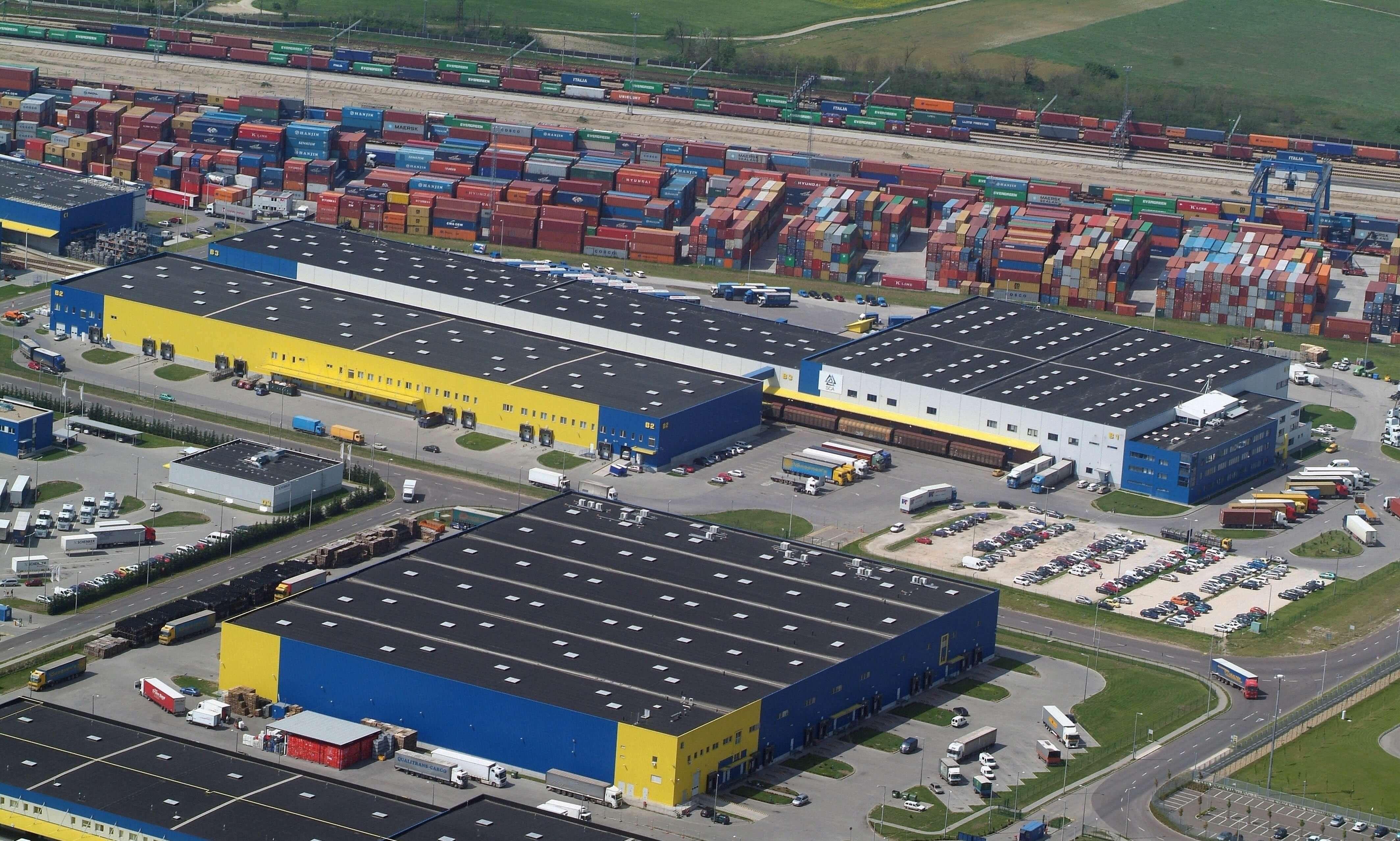 215 ezer négyzetméteresre nő Soroksár logisztikai központja
