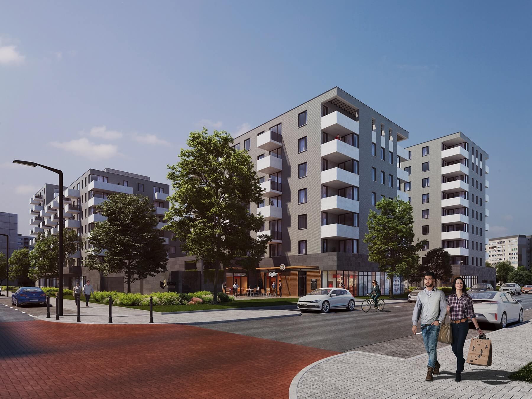 Magyar ingatlanfejlesztő épít lakóparkot a főváros új üzleti negyedében