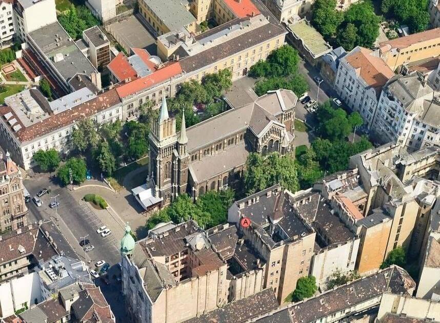 Ybl Miklós tervei alapján épült templomot újítanak fel Budapesten