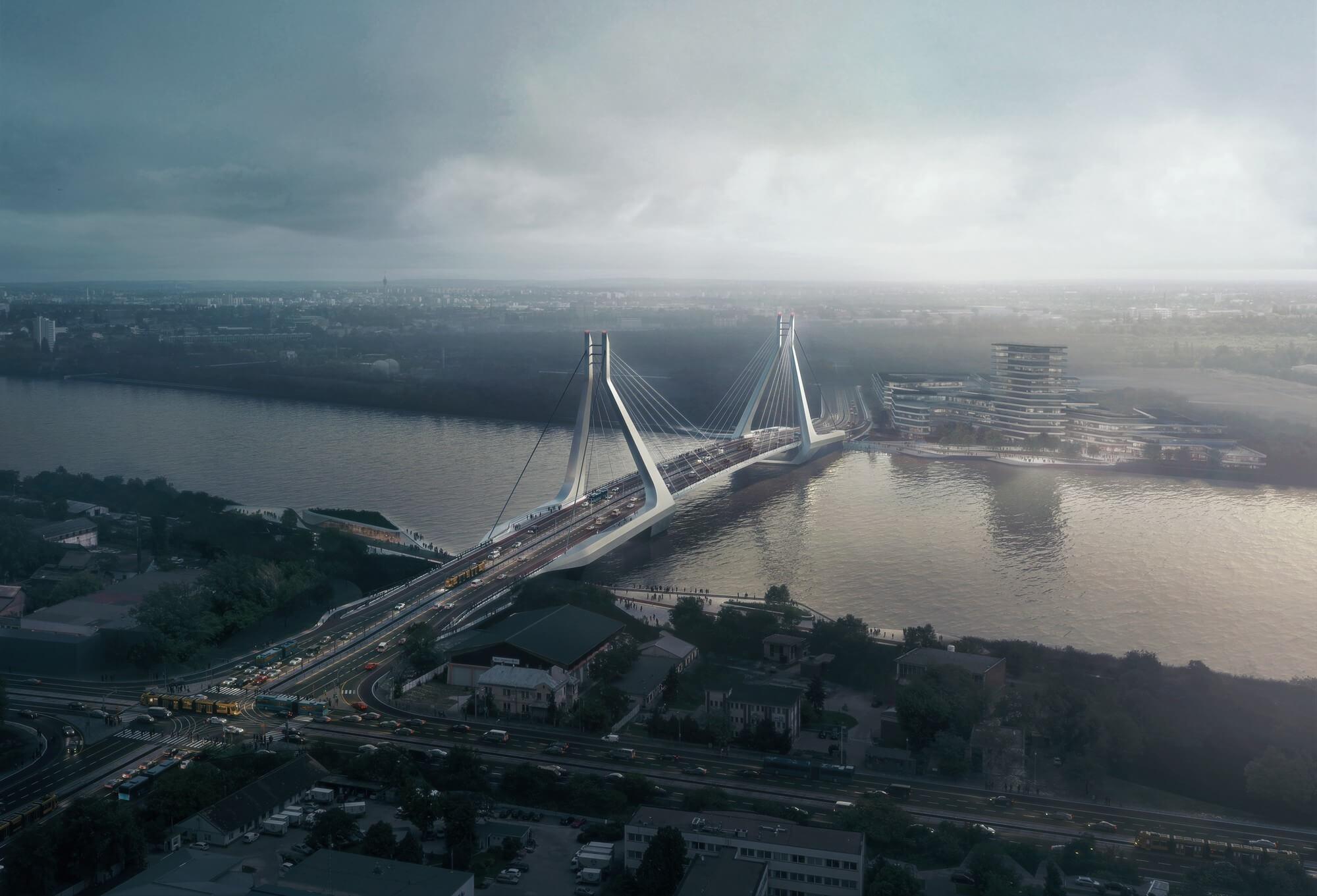 Megnézhetjük, milyen pályázatok érkeztek az új fővárosi Duna-hídra