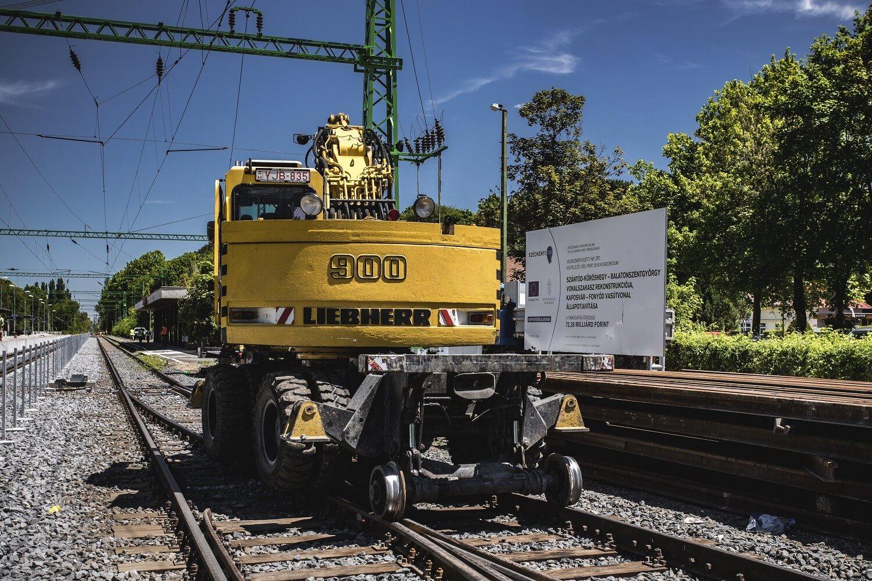 Egy hónap múlva befejezik a nagyobb munkákat a dél-balatoni vasúton