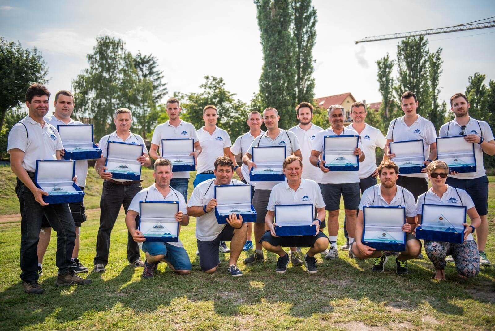 Emlékplakettel ismerték el a Magyar Építő munkatársainak kiváló munkáját