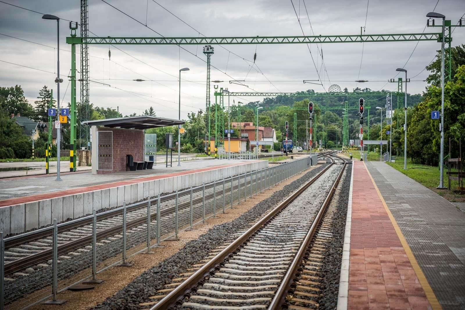 Célba ért a dél-balatoni vasútfejlesztés