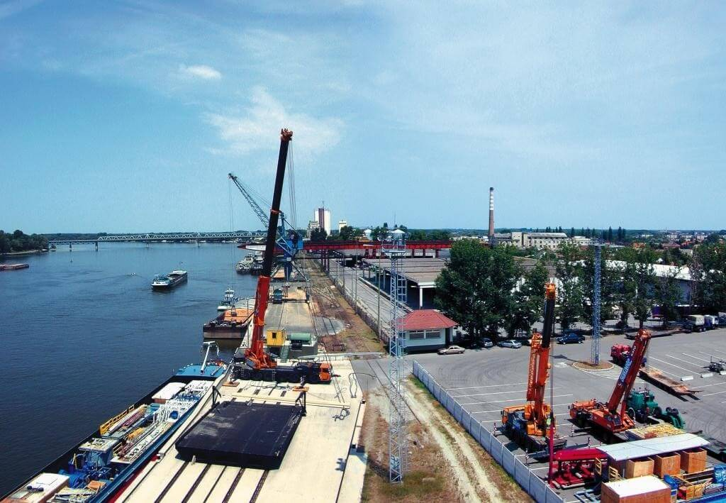 Nagyszabású munkálatok indulnak a bajai kikötőben