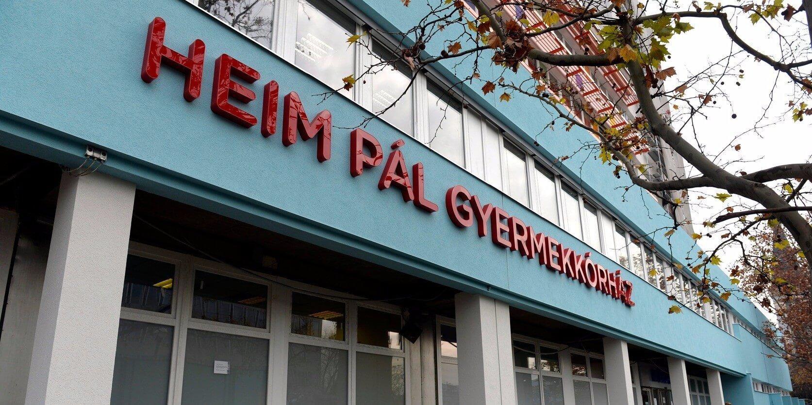 Energiatakarékos épülettel bővül a Heim Pál Gyermekkórház