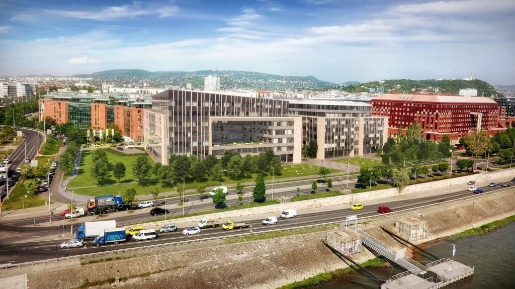 Újabb, hatszintes irodaházzal bővül az Infopark