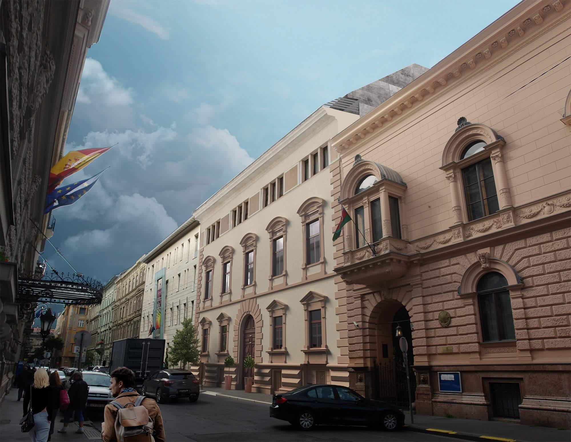 Szállodaként éled újra a Terézváros kihasználatlan műemléképülete