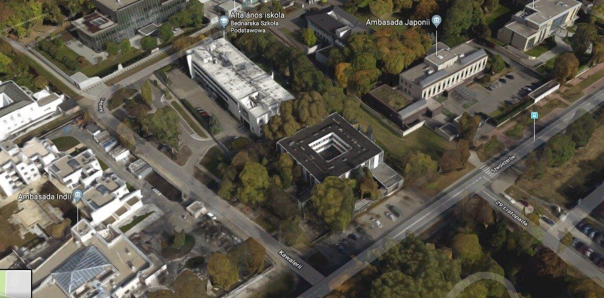 Külügyminisztériumi épületet újít meg Varsóban egy magyar vállalat