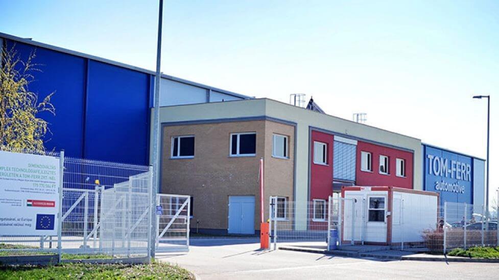 Európai főszerepre törekszik új tatai gyárával a Tom-Ferr