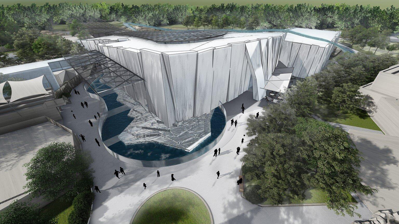 Így nézhet ki a Nyíregyházi Állatpark jégkorszaki bemutatóhelyszíne