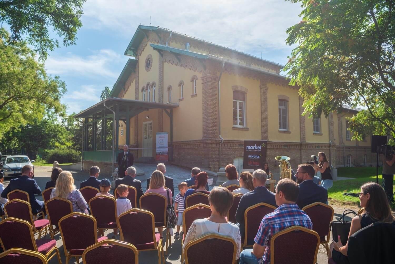 Életmentő beruházást adtak át a Ferencvárosban