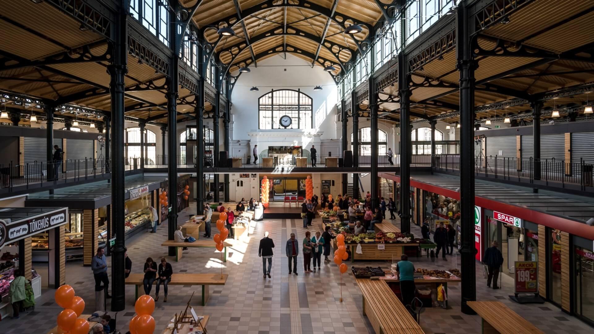 Jövő nyáron nyitja meg kapuit Győr új vásárcsarnoka