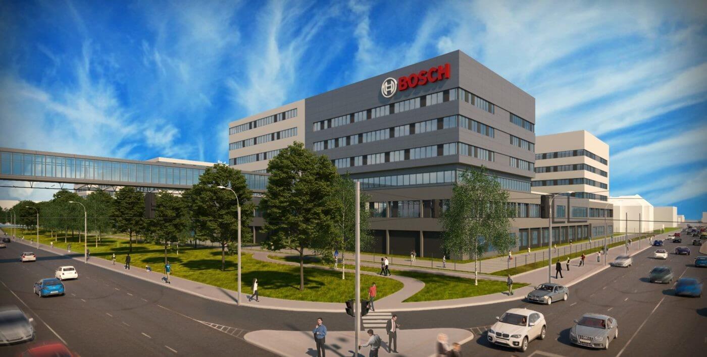 90 ezer négyzetméteres létesítményt épít a fővárosban a Bosch
