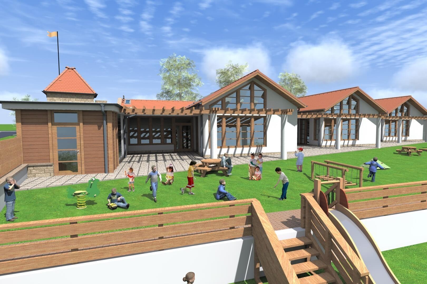 Új iskola és új óvoda épül Fóton