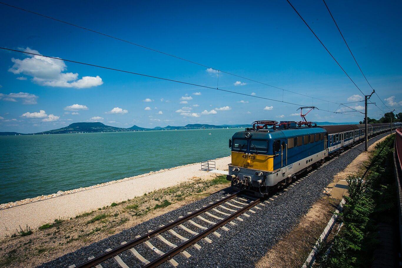 62 milliárdos uniós támogatást kap a balatoni vasútvonal