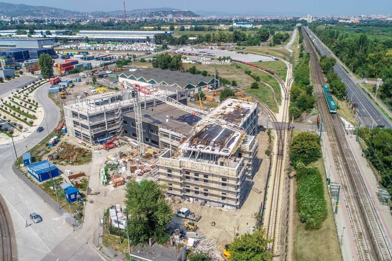 A Spányi Partners szervezésében születik meg a Szabadkikötő első irodaház-fejlesztése