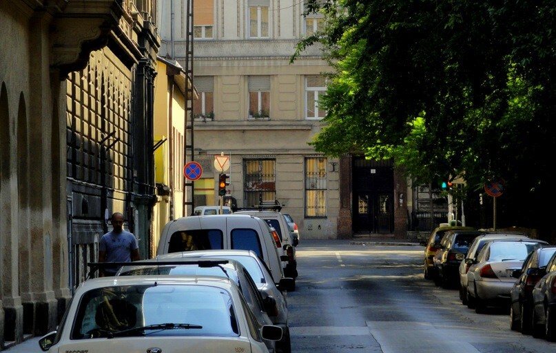 Belvárosi utcát újítanak fel Budapesten