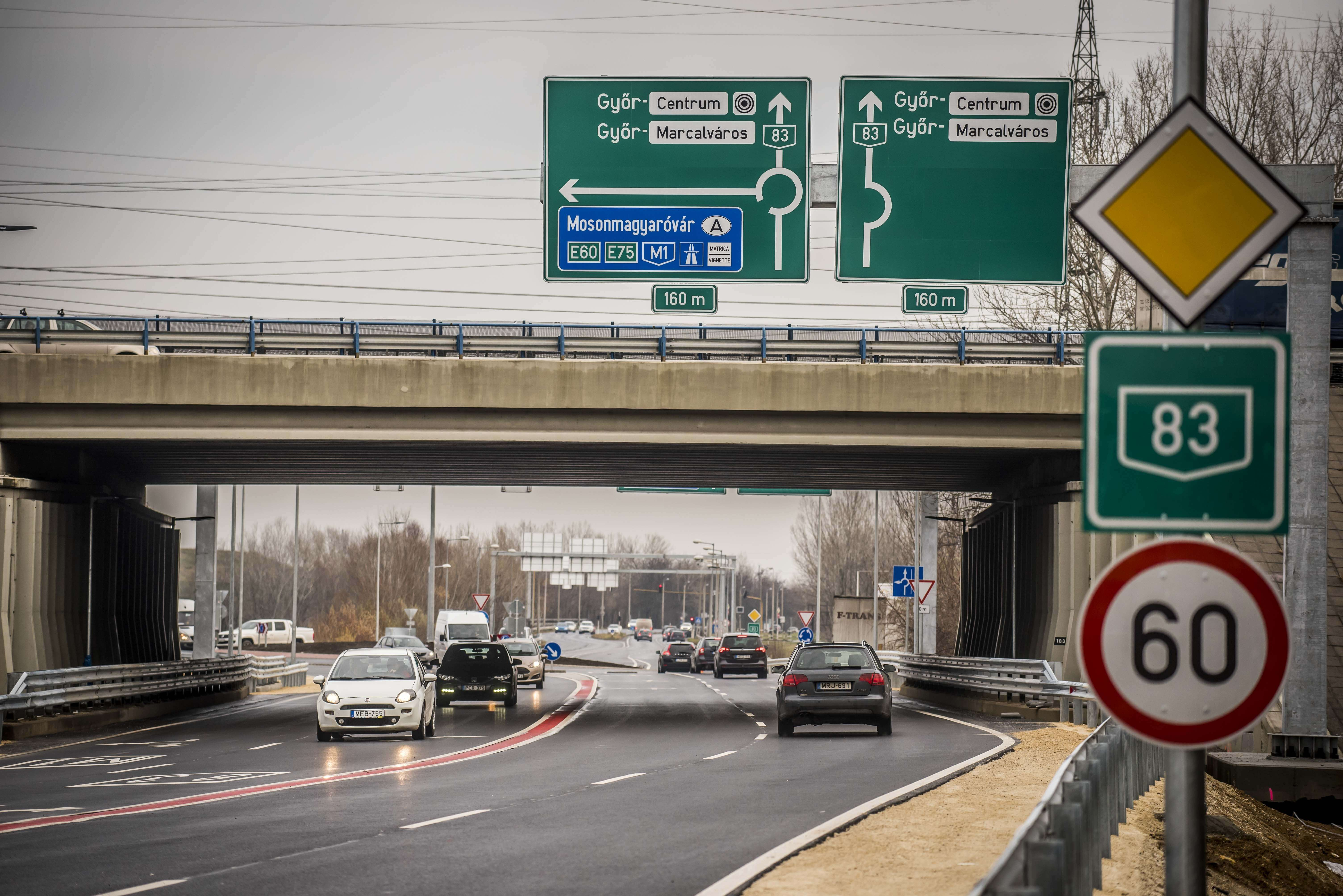 Győr egyik legveszélyesebb csomópontja vált biztonságosabbá