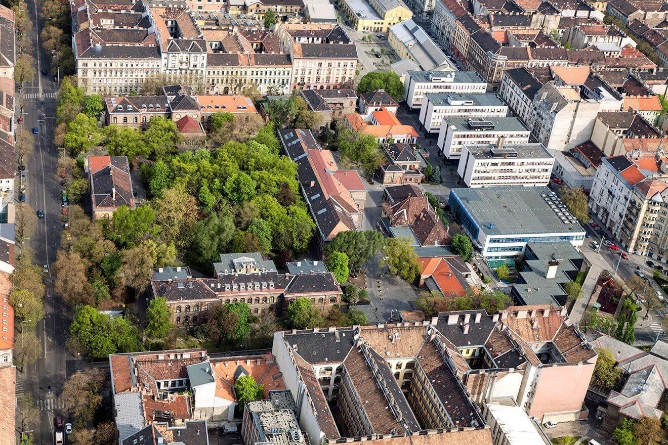 Budapest jelentős egyeteme épül át