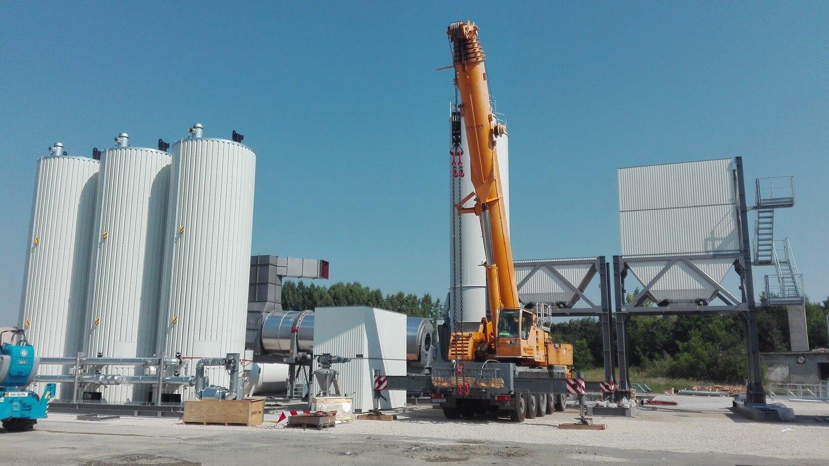 Új keverőtelepet épít a Soltút az R67-es kivitelezéséhez