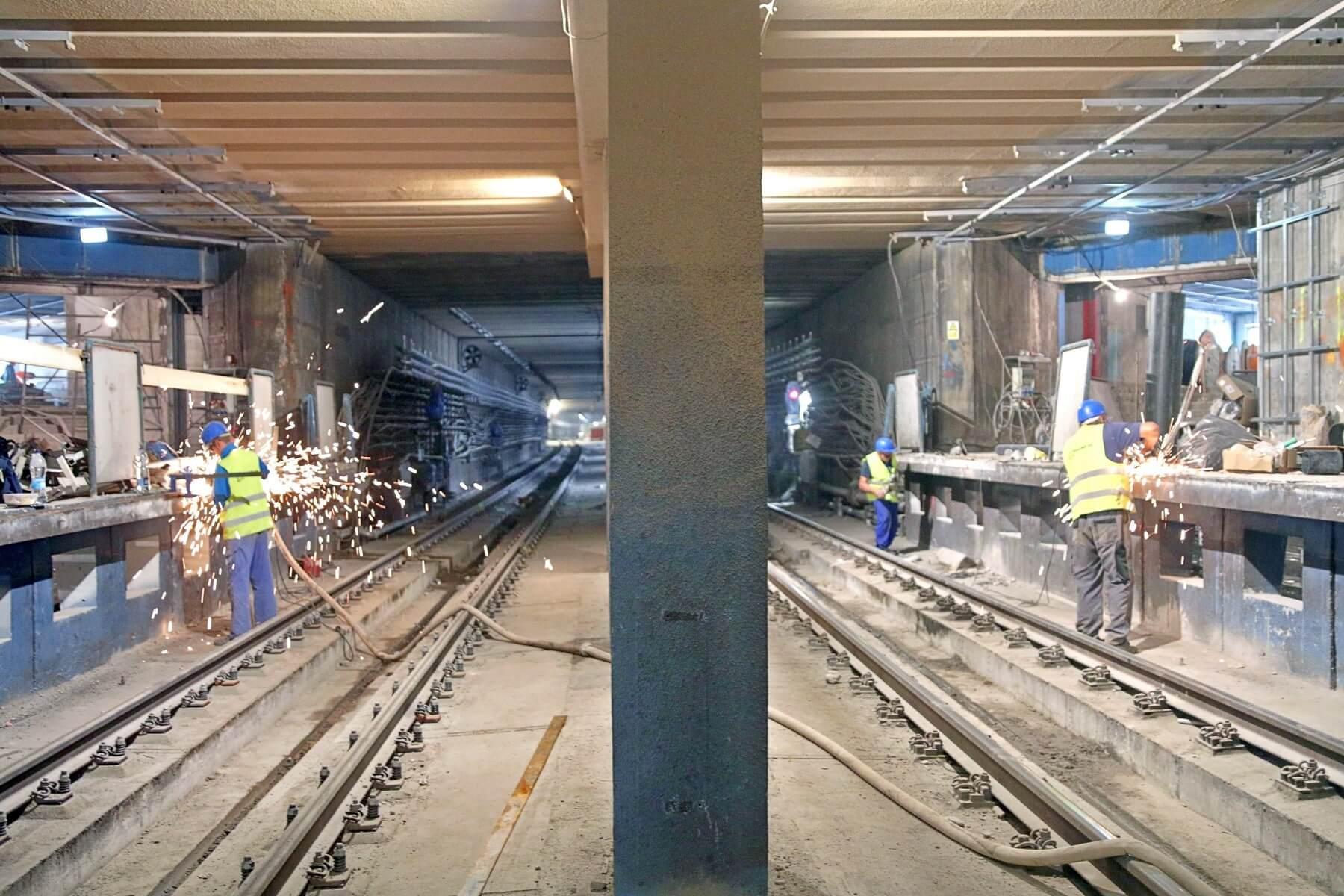 Így néznek ki az M3-as metró munkálatai