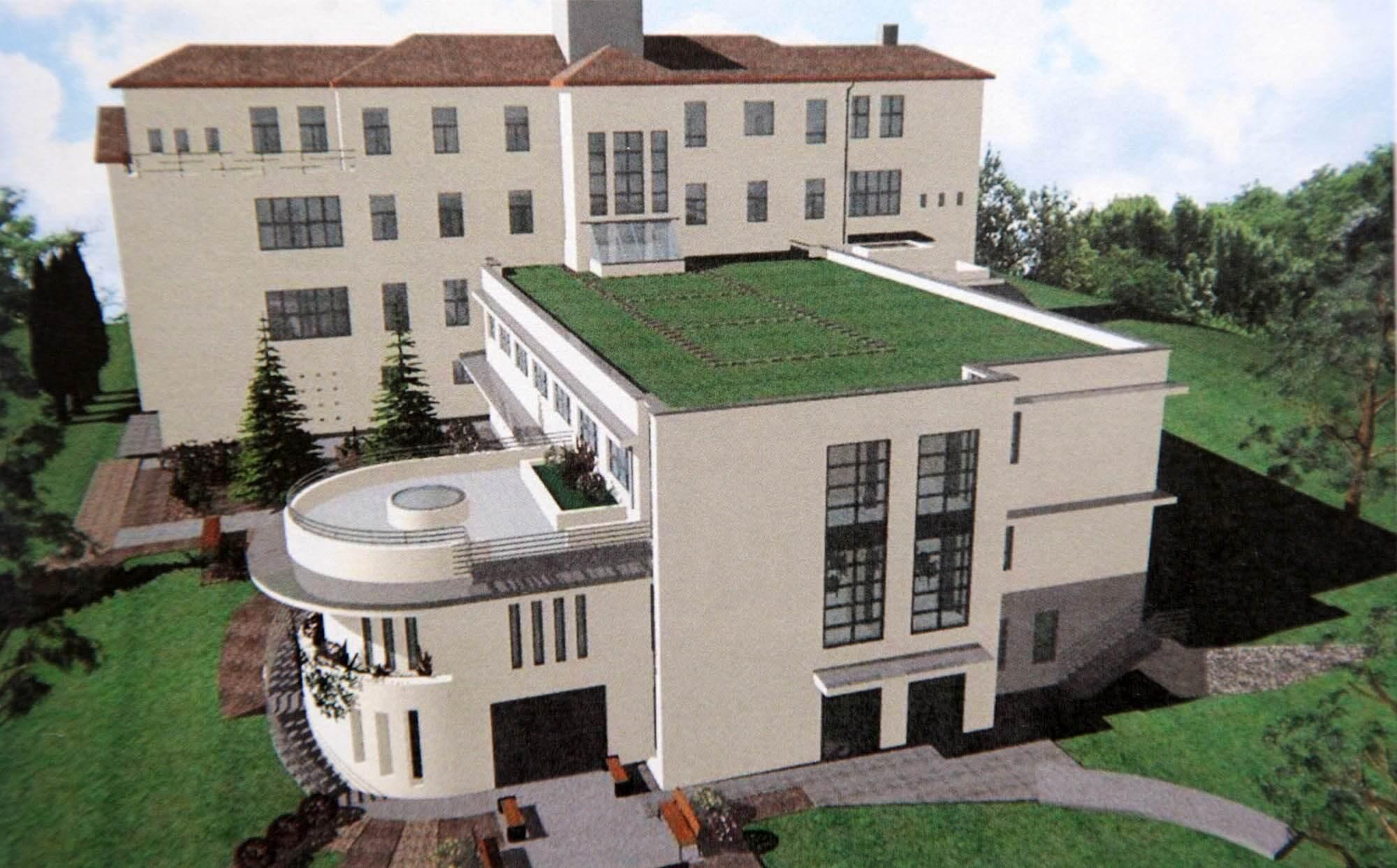 Közel nulla energiaigényű új tömböt kap a hűvösvölgyi kórház