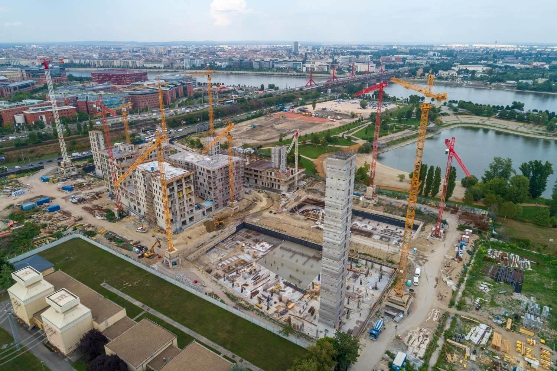 Egyszerre irodanegyed, lakóövezet és közpark: szerethető városrészként épül fel a BudaPart