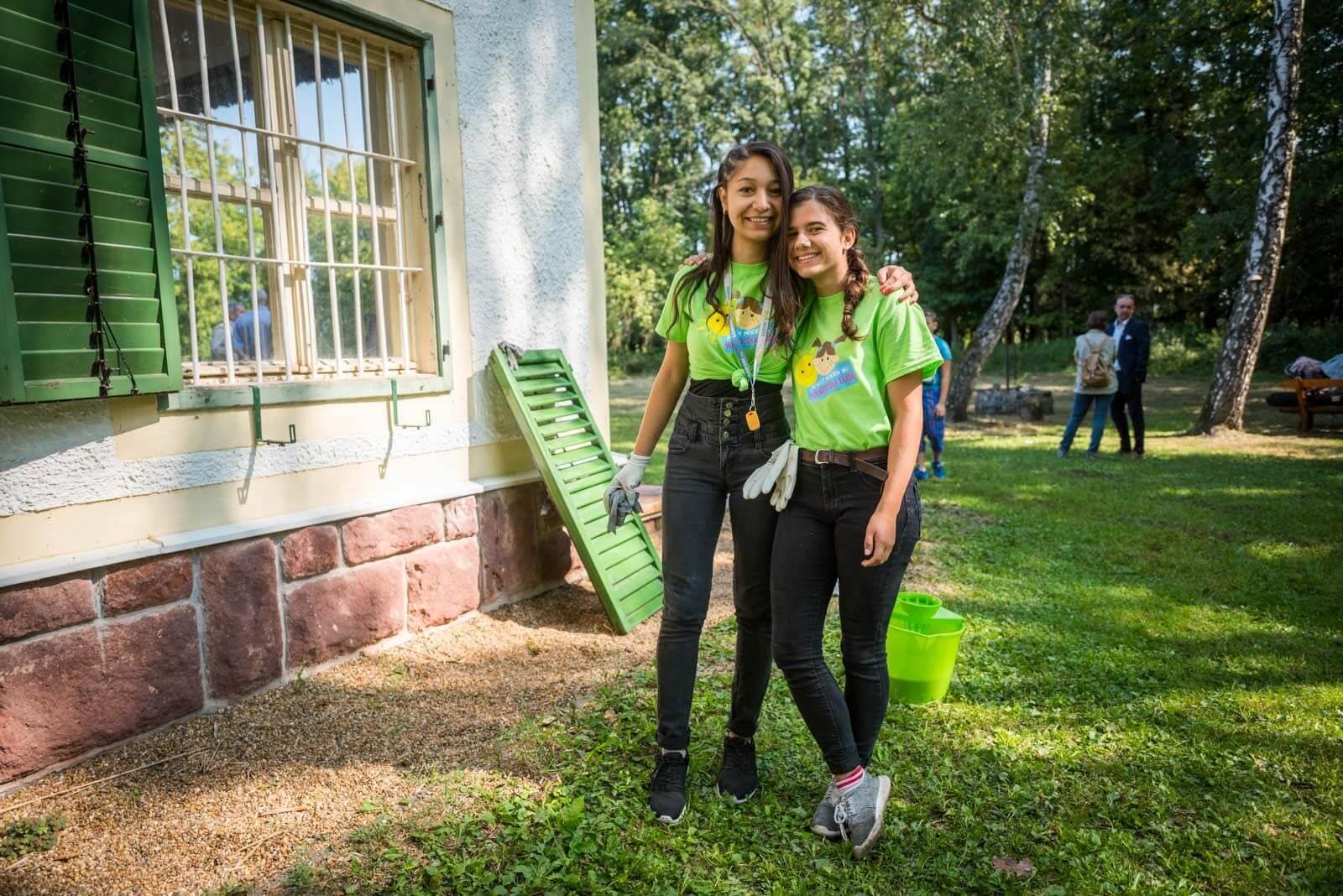 Bivalyrezervátumot fejlesztenek az újjáéledt építőtábor diákjai