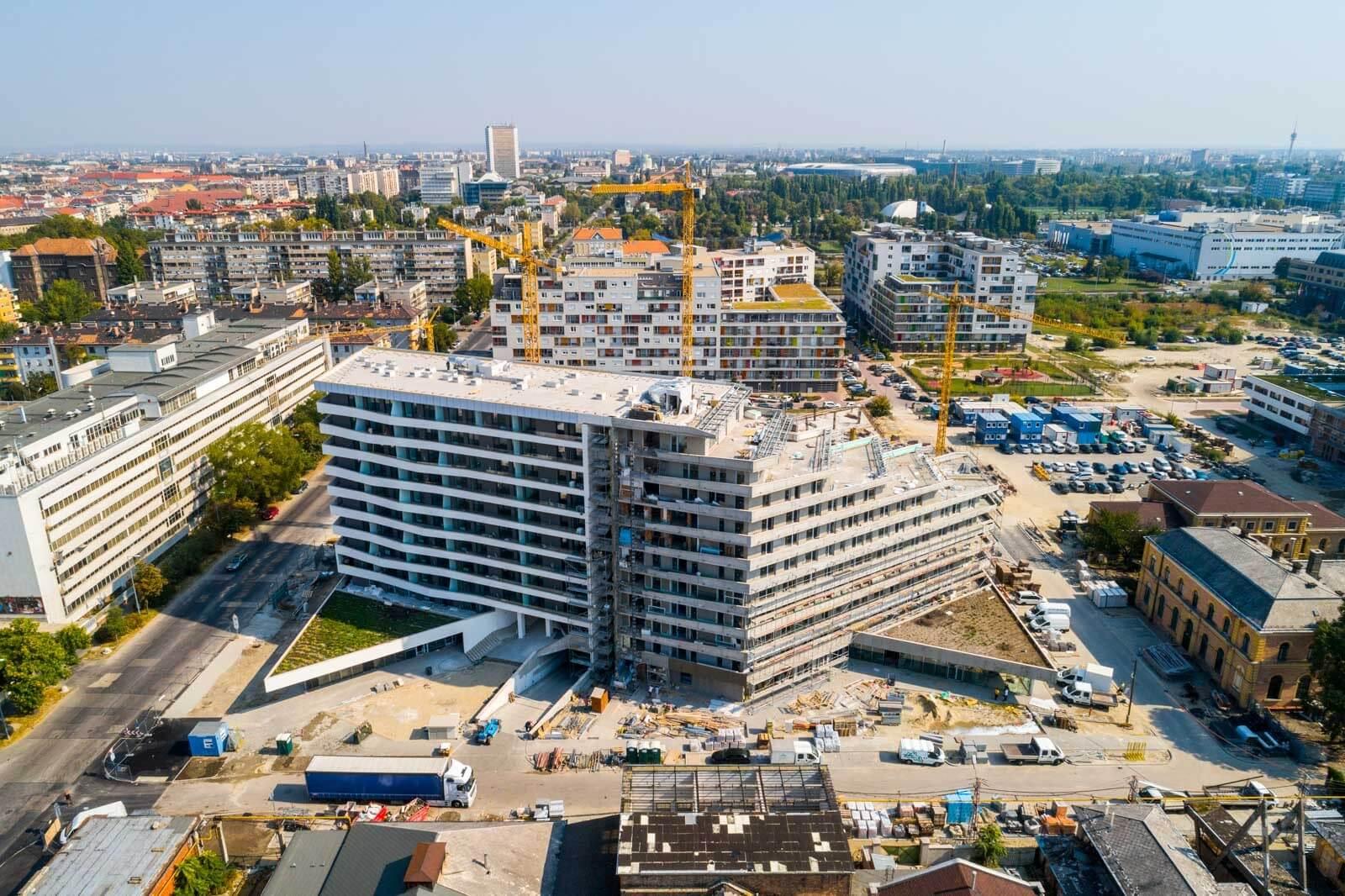 Eddigi legnagyobb lakóingatlan projektjét menedzseli a Spányi Partners
