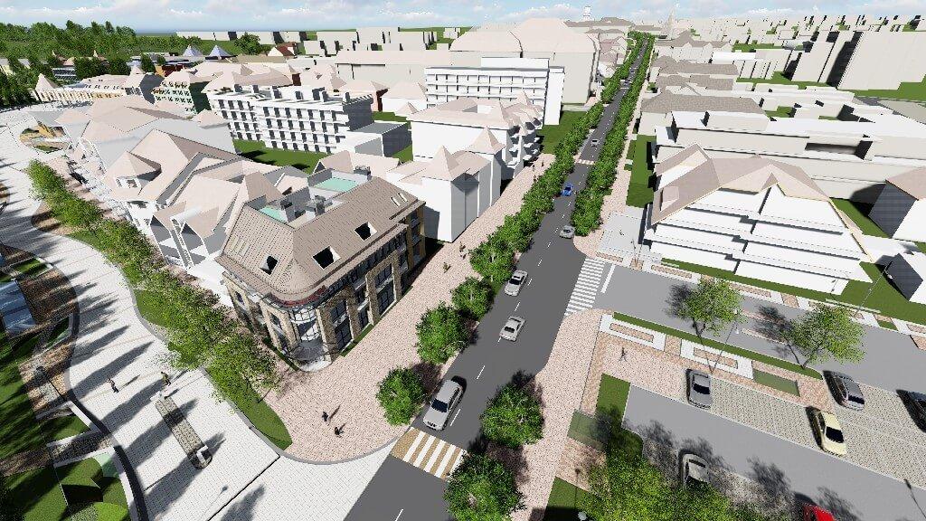 Tovább fejlődik Hévíz: megújul a város központi parkolója is