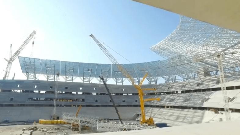 Mérföldkőhöz érkezett a Puskás-stadion építkezése