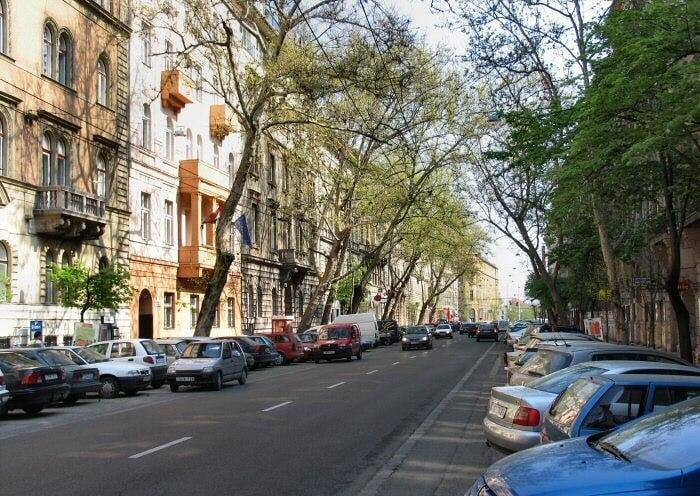 Újabb belvárosi útvonal újul meg Budapesten