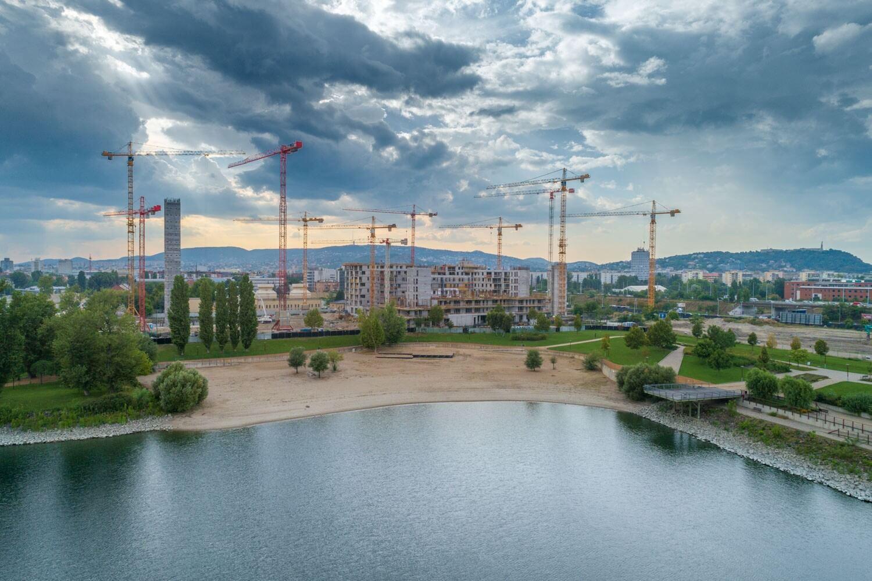 Jövőre már 5 ezer ember él és dolgozik majd Budapest új városnegyedében