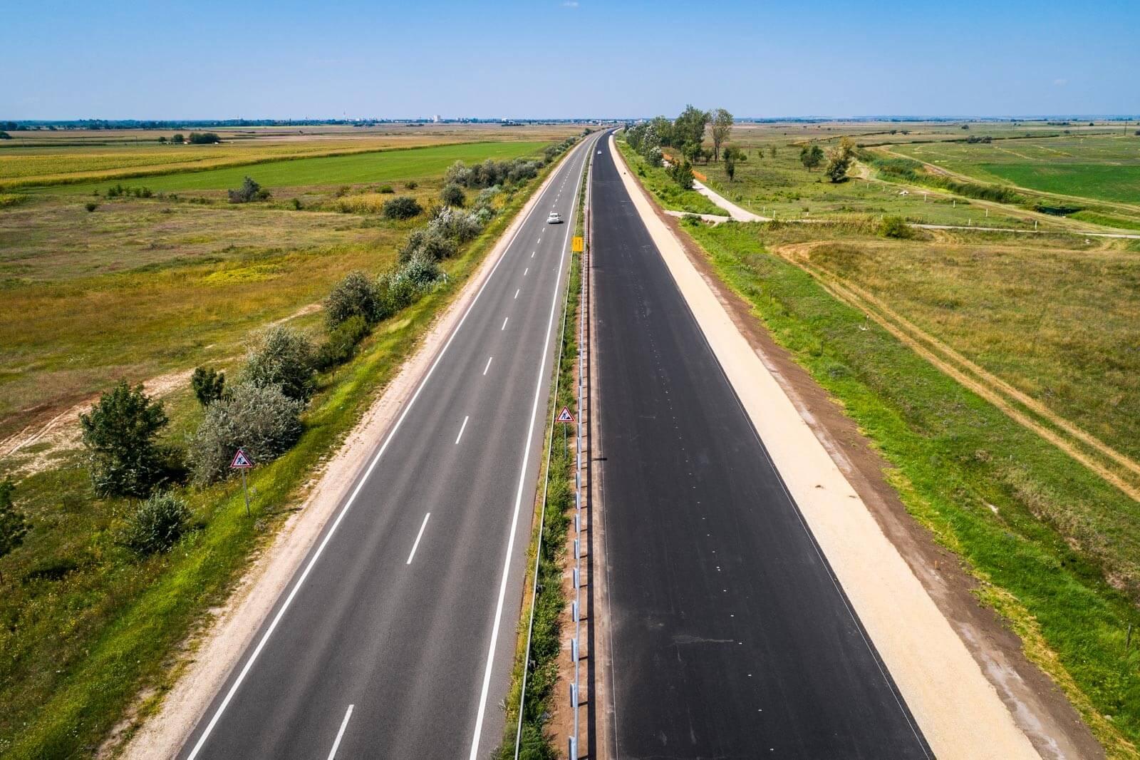21-es út: már az új pályán halad a forgalom Tarnál