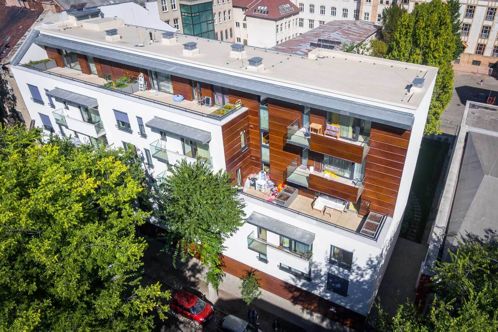 25 lakásos zöld társasházat kap Zugló