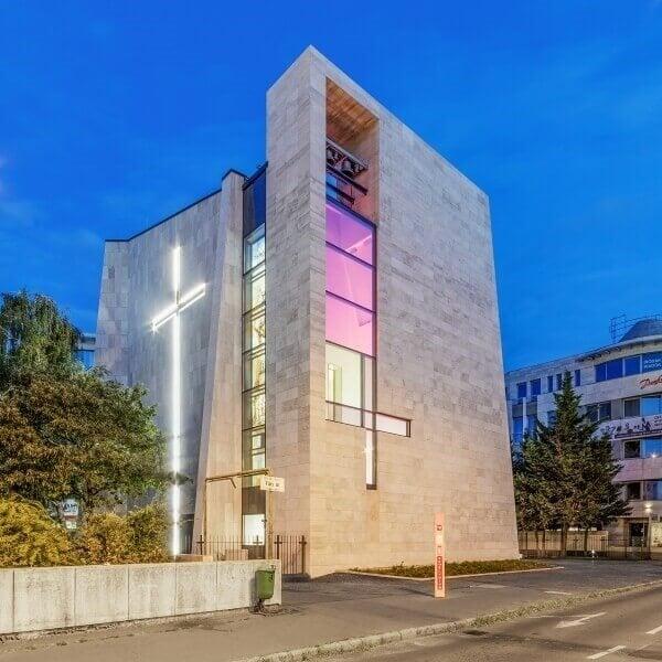 Elnyerte az Év háza díjat a Laterex templomrekonstrukciója