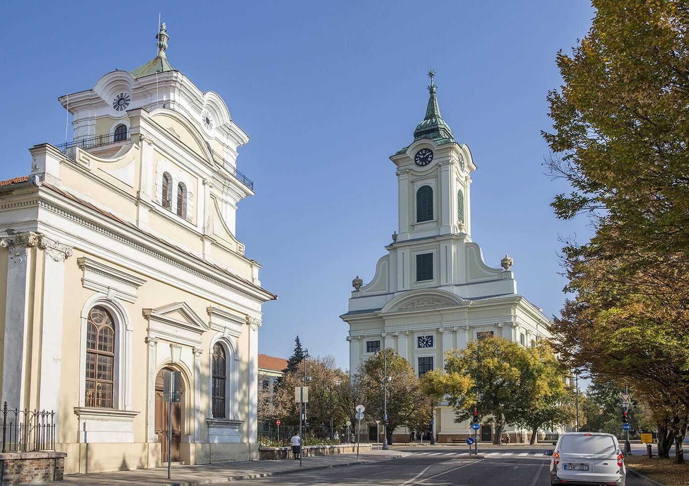 Közel 200 éves templomát újította fel Békéscsaba