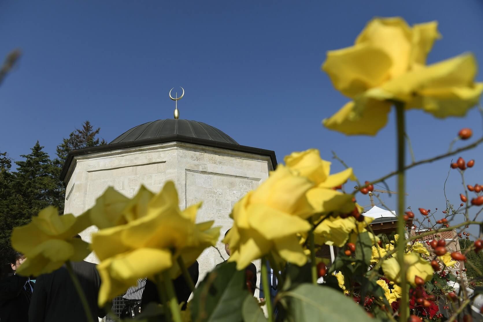 Gül Baba türbéje a ZÁÉV által vált a főváros méltó díszévé
