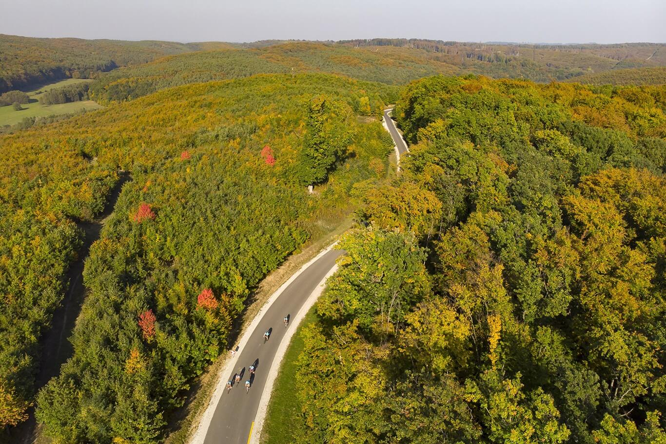 Erdészeti útból nyert 12 kilométeres bicikliutat a zalai térség