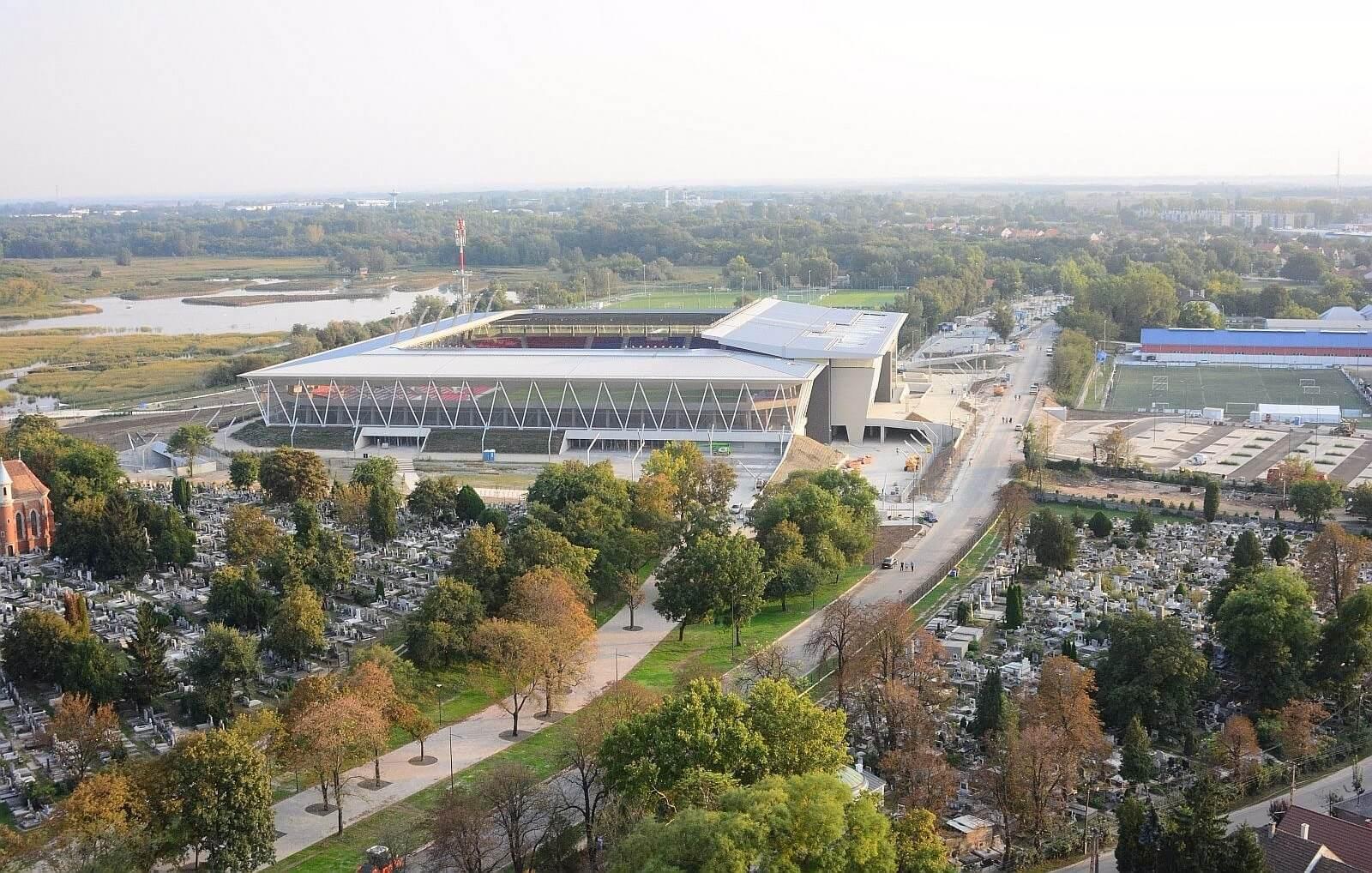 Hazai pályán bizonyíthat a Vidi: nemsokára átadják a Sóstói Stadiont