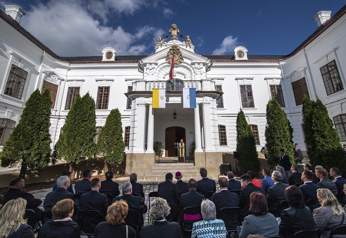 Megújult a barokk építészet egyik kimagasló épülete Veszprémben