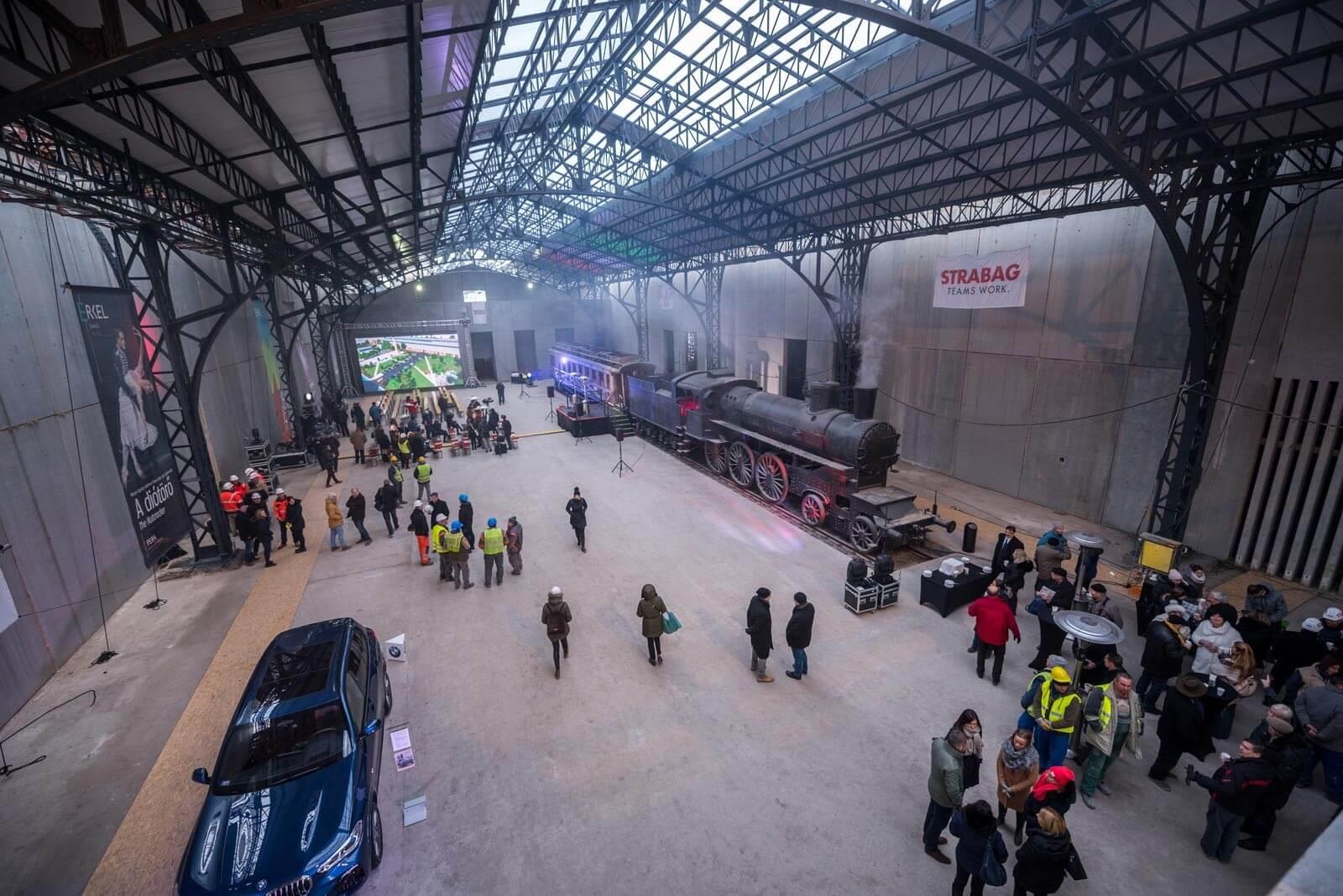 Mérföldkőhöz ért az Opera Kőbányán épülő új központja