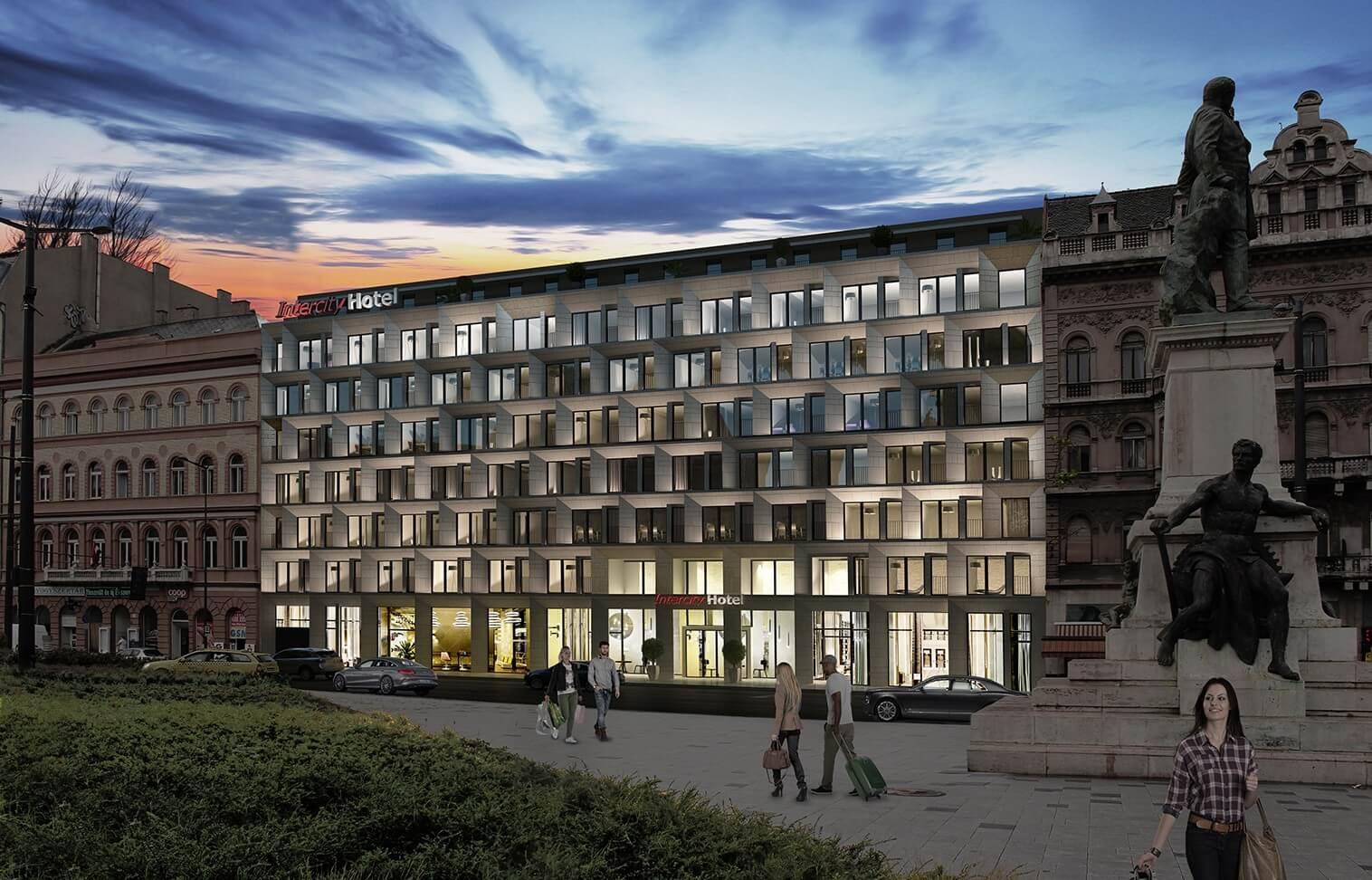 Több száz férőhelyes hotel fogadja majd a Keleti pályaudvarra érkezőket