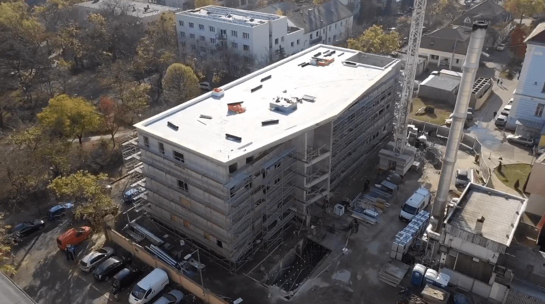 Hamarosan elkészül a Heim Pál új épületével az Épkar és a Zeron
