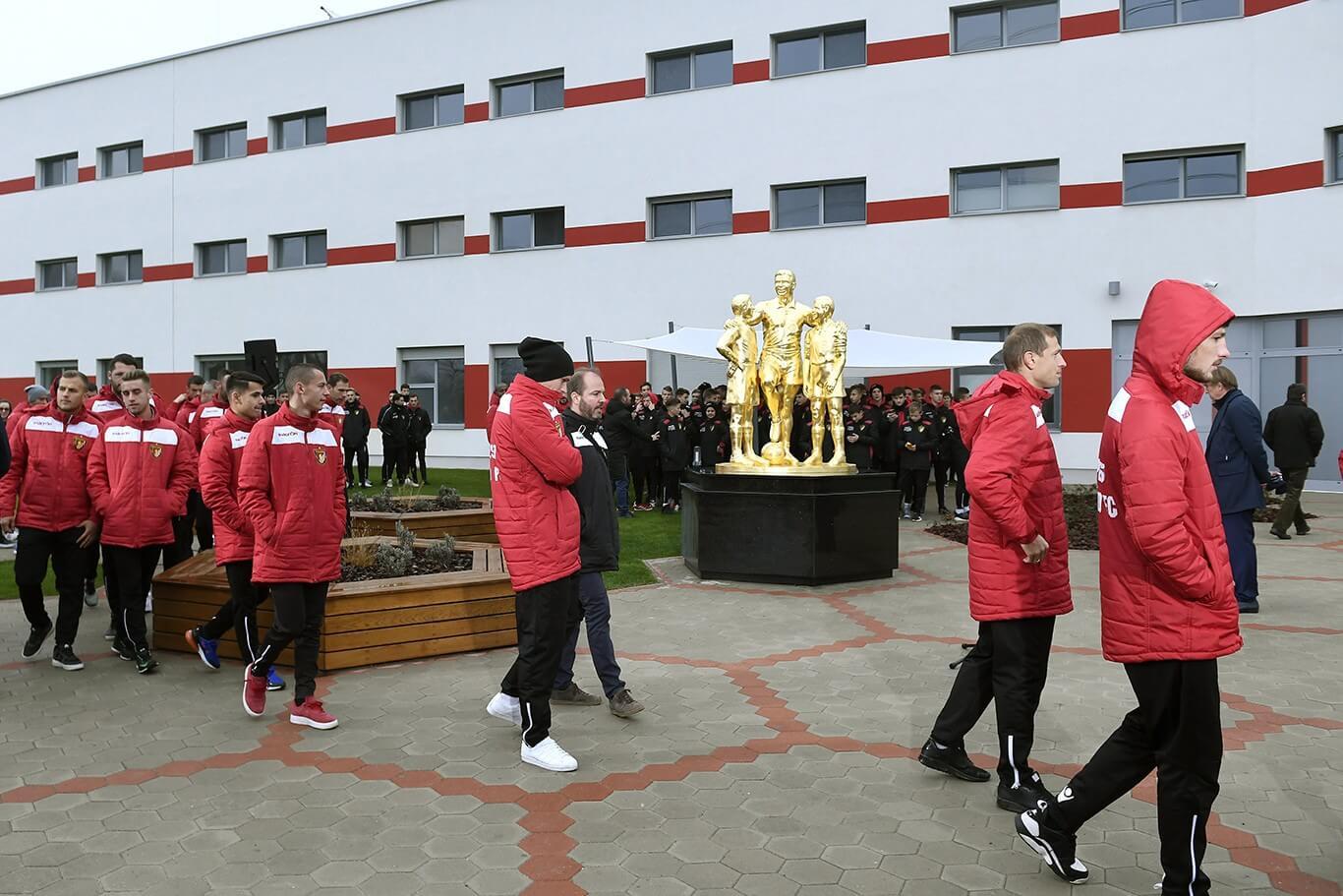 Önálló központot kapott az eddig a Bozsik-stadionban működő fociakadémia