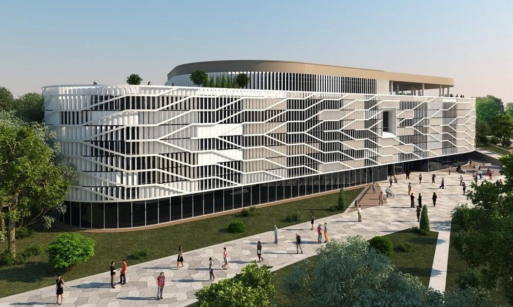 Óriási acéltojással jön létre Kecskemét új campusa